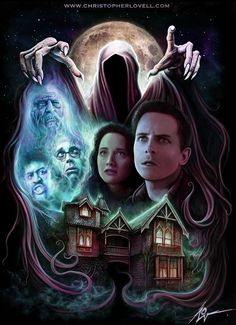 The Frighteners (1996) artwork. I freakin' love  this movie!!!!