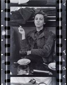 Gerda Taro (1910-1937) une des premières femmes photographes de guerre. Liée à Robert Capa. Elle mourit sur le terrain en Espagne.