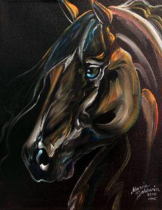 """Knight Rider Horse"" par Marcia Baldwin"