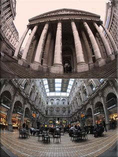 On this day 23rd January, 1571, Queen Elizabeth I opened the Royal Exchange, London, as a bankers meeting house, It was founded by the financier Sir Thomas Gresham