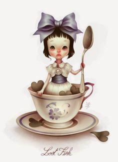Elodie Vermeulen(Lostfish) | Alice in Wonderland