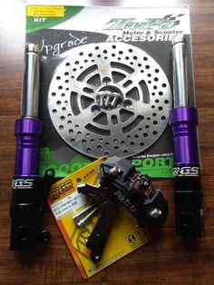 Purple RRGS custom HONDA Ruckus front end Honda Ruckus Parts, Custom Honda Ruckus, Dots, Purple, Stitches, Viola