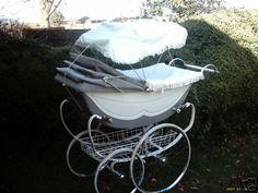. Vintage Stroller, Vintage Pram, Pram Stroller, Baby Strollers, Silver Cross Prams, Prams And Pushchairs, Baby Buggy, Dolls Prams, Baby Prams