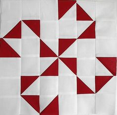 "This Oklahoma Twister quilt pattern would be very easy to duplicate using the Abracadabra Quilting ""fishie"" technique"