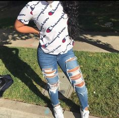 Swag Outfits For Girls, Cute Outfits For School, Teenage Girl Outfits, Cute Swag Outfits, Cute Comfy Outfits, Teenager Outfits, Teen Fashion Outfits, Retro Outfits, Look Fashion