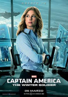 Captain America - the Winter Soldier: il character banner dell'Agente 13