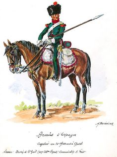 French; 10th Chasseurs a Cheval, Elite Company, Chasseur, in Spain