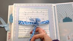 Mini álbum scrapbook baby
