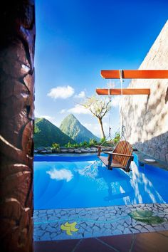 Open-wall Suites at Ladera in St. Lucia | Vacation Idea )