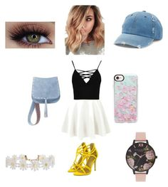 """""""Untitled #2"""" by aleena-seeling on Polyvore featuring Boohoo, Casetify, Steve Madden, Mudd, Humble Chic and Olivia Burton"""