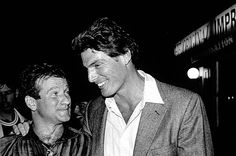 Robin Williams dressed in scrubs and surprised his friend Christopher Reeve in the hospital following his career-ending accident.