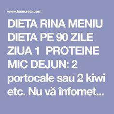Kiwi, Rina Diet, Protein, The Secret, Salads