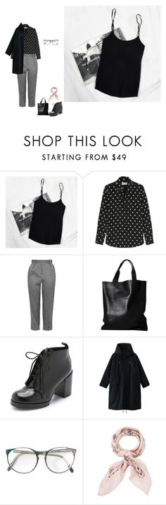 """Untitled #750"" by shuura ❤ liked on Polyvore featuring Yves Saint Laurent, Topshop, London Edit, Cheap Monday, THE RERACS and Manipuri"