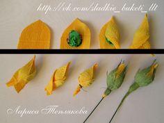 (1) Gallery.ru / Фото #3 - МК по закрытому бутону розы. - LediFlor