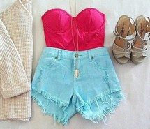 Inspiring image clothes, cute, fashion, amazing, moda, outift, girly stuff, pink, shorts, wish, colors, perfect, sweaters, style, teenagers, girls, heart, life, summer, girly #1105003 by nastty. Resolution: 400x390px. Find the image to your taste!