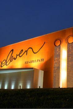 Restaurante Eleven Lisbon, Portugal, Barcelona, Castle, Neon Signs, Eat, Places, Restaurants, Castles