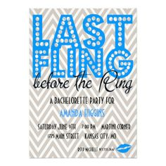 >>>The best place          Last Fling (blue) Custom Announcements           Last Fling (blue) Custom Announcements in each seller & make purchase online for cheap. Choose the best price and best promotion as you thing Secure Checkout you can trust Buy bestDiscount Deals          Last Fling ...Cleck Hot Deals >>> http://www.zazzle.com/last_fling_blue_custom_announcements-161412248168141521?rf=238627982471231924&zbar=1&tc=terrest