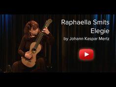 Raphaella Smits performing Elegie by Johann Kaspar Mertz