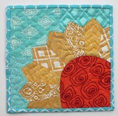 Sending a little sunshine mug rug, Quilt Inspiration