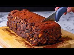 NULLA erőfeszítés és 4 hozzávaló. Sütés nélküli sütemény amely biztos siker| Ízletes TV - YouTube No Cook Desserts, Dessert Recipes, Banana Bread, Food And Drink, Cooking Recipes, Chocolate, Baking, Cake, Tv