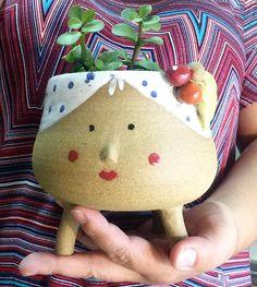 Vaso de cerâmica Carmen   Daniela Nobrega Cerâmica   Talk7