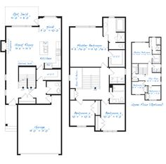 Broadview homes the fairview is a 1783 two storey for 3 bedroom ensuite house plans