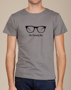This Charming man Morrissey Geek glasses mens shirt by LittleAtoms, $18.00