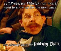 Harry Potter Pick Up Line   Professor Flitwick