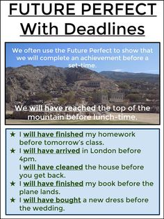 #tefl #tesol #grammar #learnenglish #esl #elt AskPaulEnglish: FUTURE PERFECT With Deadlines