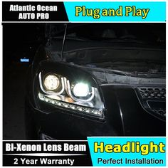 507.60$  Watch now - http://aliky1.worldwells.pw/go.php?t=32257710796 - AUTO.PRO 2007-2013 For kia sportage headlights LED lights bars DRL bi xenon lens H7 xenon Angel Eyes head lamps car styling 507.60$
