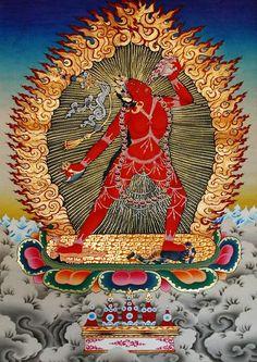 Vajrayogini dakiini. Tibet.