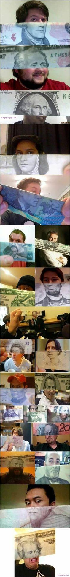 Funny Pictures Of Random People vs Money