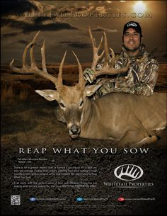 "2012 Whitetail Properties ""REAP WHAT YOU SOW"" campaign"