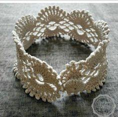 Pulseiras de Crochê – Super Tendência!!! |