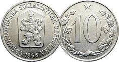 Deset haléřů československých Commemorative Coins, Retro 1, Memories, Coins, Historia, Childhood, Nostalgia, Memoirs, Souvenirs