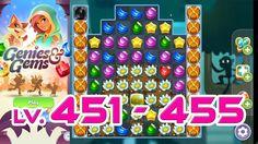 Genies & Gems - Level 451 - 455 (1080p/60fps)
