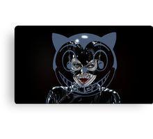 I am Catwoman, hear me roar. Canvas Print