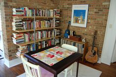 My Home by LaVieToni, via Flickr Enetri bookshelves, discontinued by IKEA but often on Craigslist