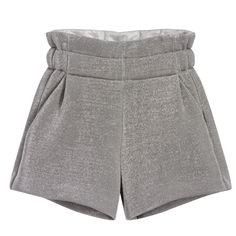 Fendi Girls Silver Glitter Shorts at Childrensalon.com Glitter Shorts, Kids Online, Short Girls, Silver Glitter, Patterned Shorts, Fendi, Girl Fashion, Trousers, How To Make