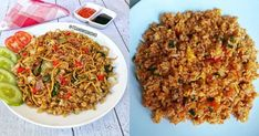 Nasi Goreng Kampung, Fried Rice, Fries, Ethnic Recipes, Food, Recipes, Essen, Meals, Nasi Goreng