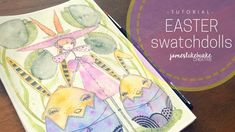 Easter Swatchdolls - TUTORIAL - YouTube