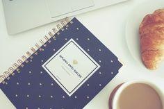 Planner dzienny   Zaplanuj Swój Sukces   Planner Gold Diamonds Bold