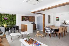 Um apartamento clean para reunir a família e brincar com o pet (Foto: Júlia Ribeiro/ Divulgação)