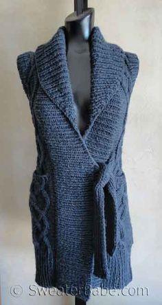 dbc262c9c sale retailer b69c6 b7c02 cowgirlblues free knit pattern sleeveless ...