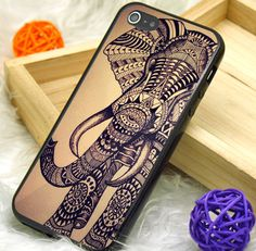Aztec Elephant Phone Case | Rubber and Plastic Available iPhone 4/4S, 5/5S, 5C and Samsung Galaxy S3, S4