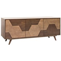 The Aconite Sideboard from CFC is one of the unique designs from this Califo W