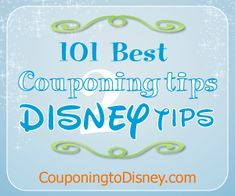 Disney World tips!