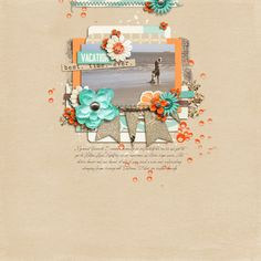 This layout was created for the Sweet Shoppe Summer Shadowbox contest - come join the digital scrapbooking fun at SweetShoppeDesigns.com   For the August 11 [Option 2] Summer Shadowbox Challenge at Sweet Shoppe Designs  Beachy Keen by Erica Zane Mess It Up A Bit - Brushes #1 by Studio Basic