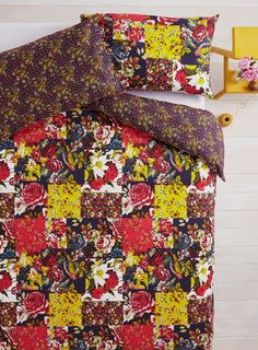 Vintage Autums New Mood Patch Bedding Set