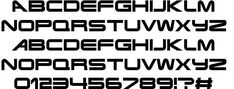 Terminator Real NFI font by Norfok Incredible Font Design Character Map, Design Lab, Futurism, Fonts, Images, The Incredibles, Science, Graphics, Cards